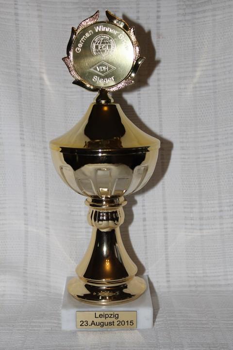 GERMAN WINNER SHOW - CACIB LIPSK (DE)